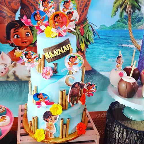 Cakes By Violet Custom Cake (Moana)