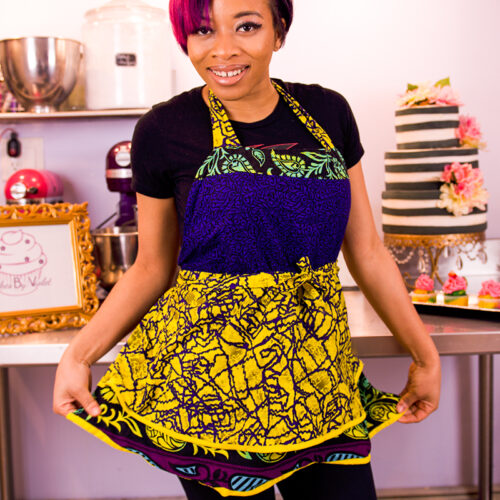 Cakes By Violet Tiwa Apron